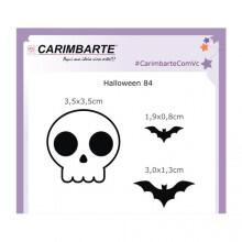Cartela Clear Stamp Halloween 84