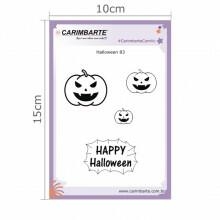 Cartela Clear Stamp Halloween 83