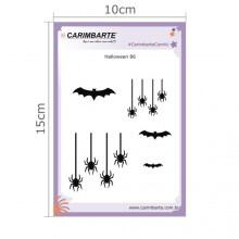 Cartela Clear Stamp Halloween 86