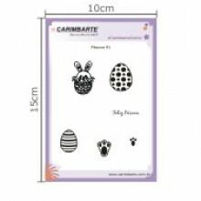 Cartela Clear Stamp Páscoa 91