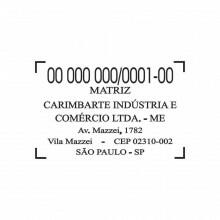 Borracha Carimbo Automatico Colop 55
